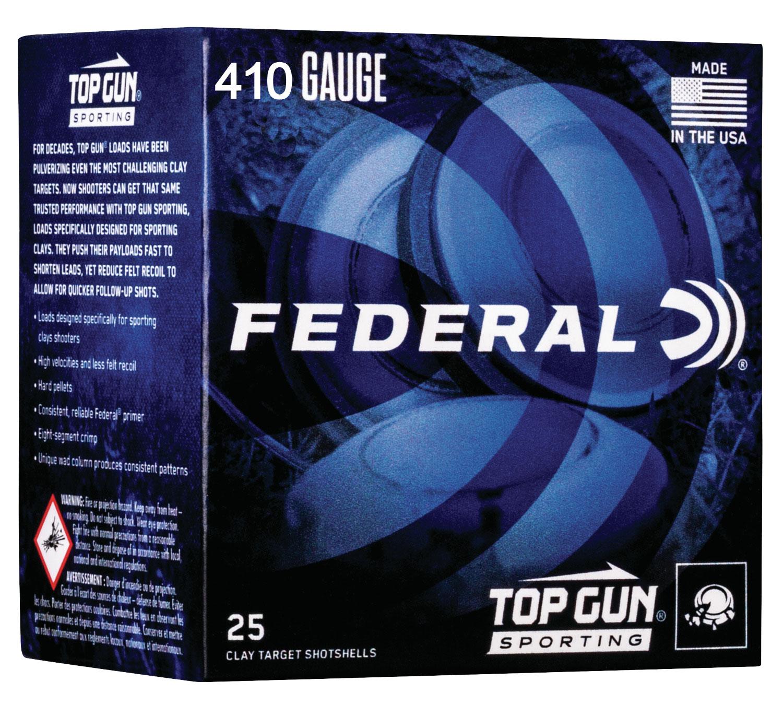 Federal TGS4121475 Top Gun Sporting  410 Gauge 2.75