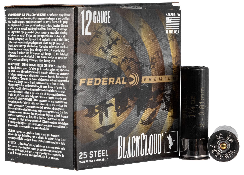 Federal PWBXI1422 Black Cloud FS Steel 12 Gauge 3