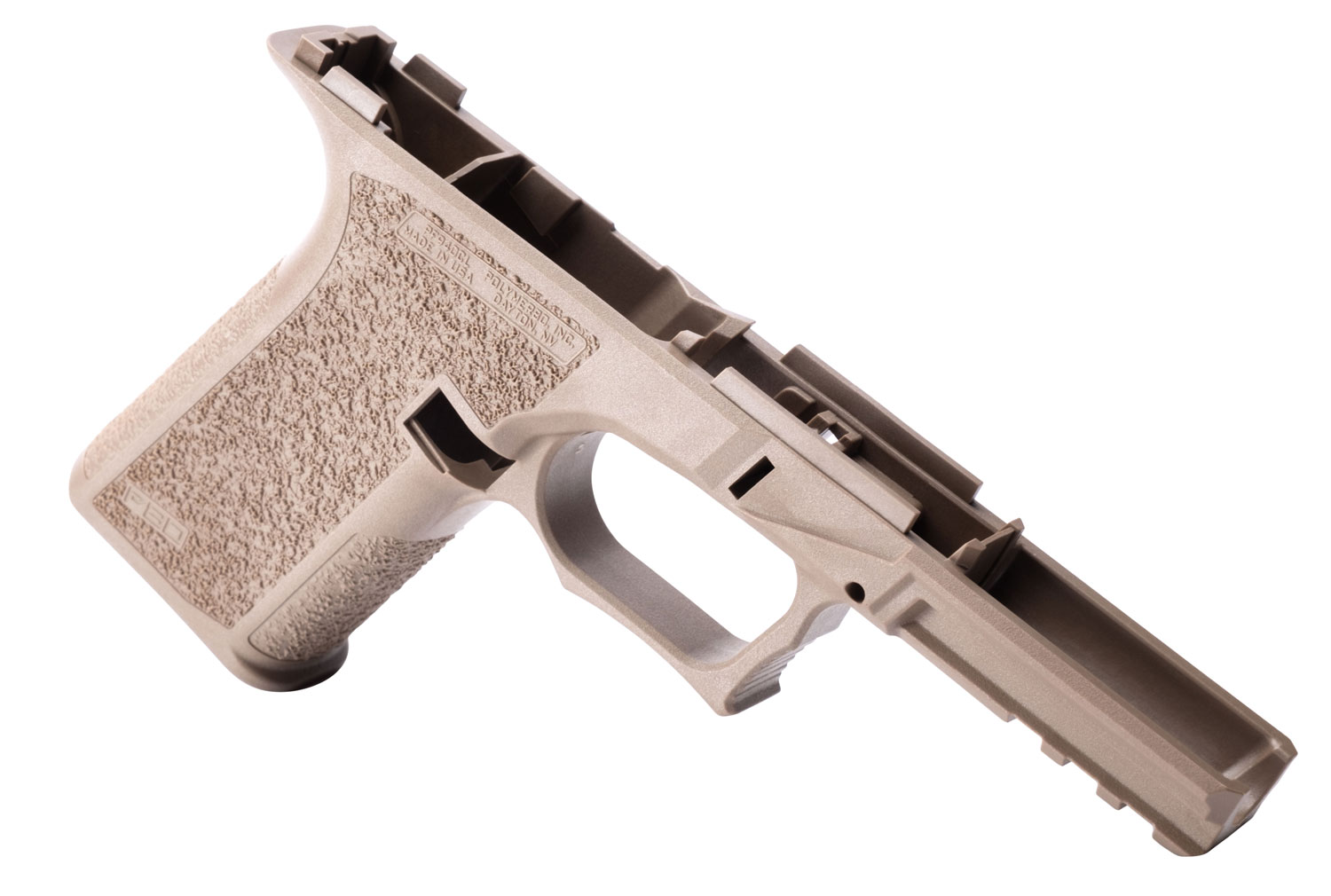Polymer80 PF940CL Compact Long Slide Glock 17 Polymer Flat Dark Earth