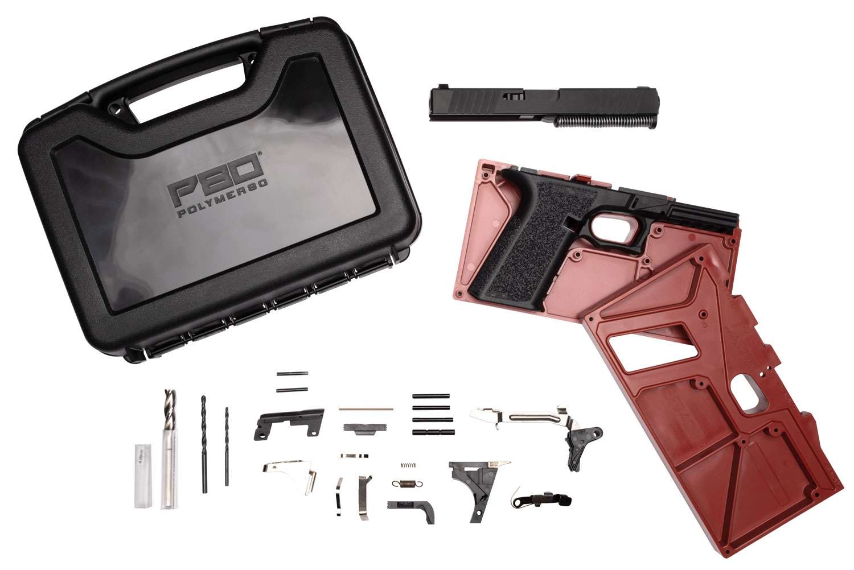 Polymer80 PF940V2BBSBLK PF940v2 Buy Build Shoot Kit Glock 17/22 Gen3 Polymer Black 15rd