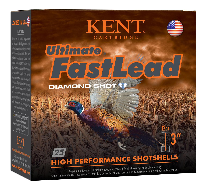 Kent Cartridge K123UFL505 Ultimate Fast Lead  12 Gauge 3.00