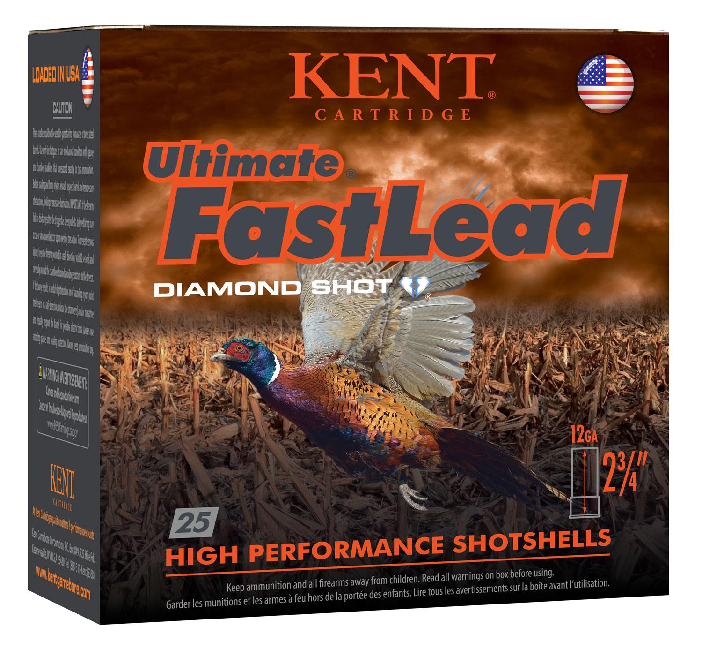 Kent Cartridge K122UFL365 Ultimate Fast Lead  12 Gauge 2.75