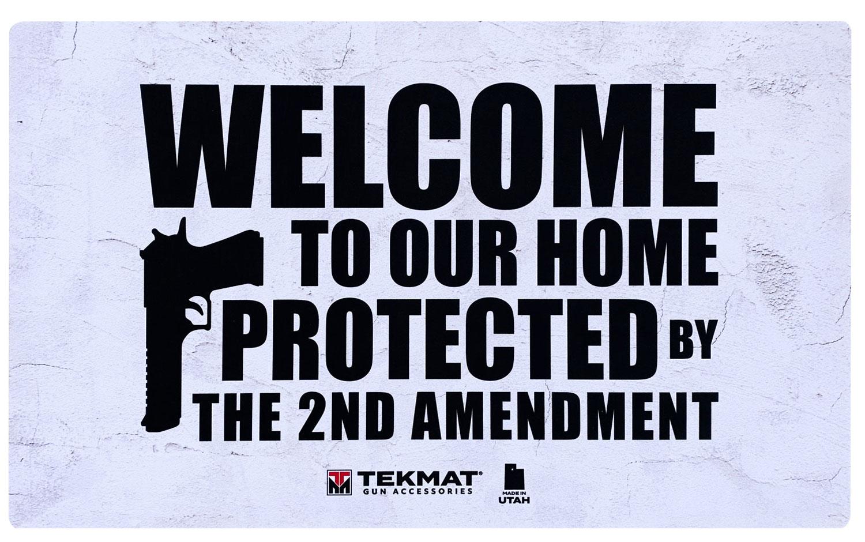 BECK TEK, LLC (TEKMAT) 422AMENDMENT 2nd Amendment  Door Mat 25
