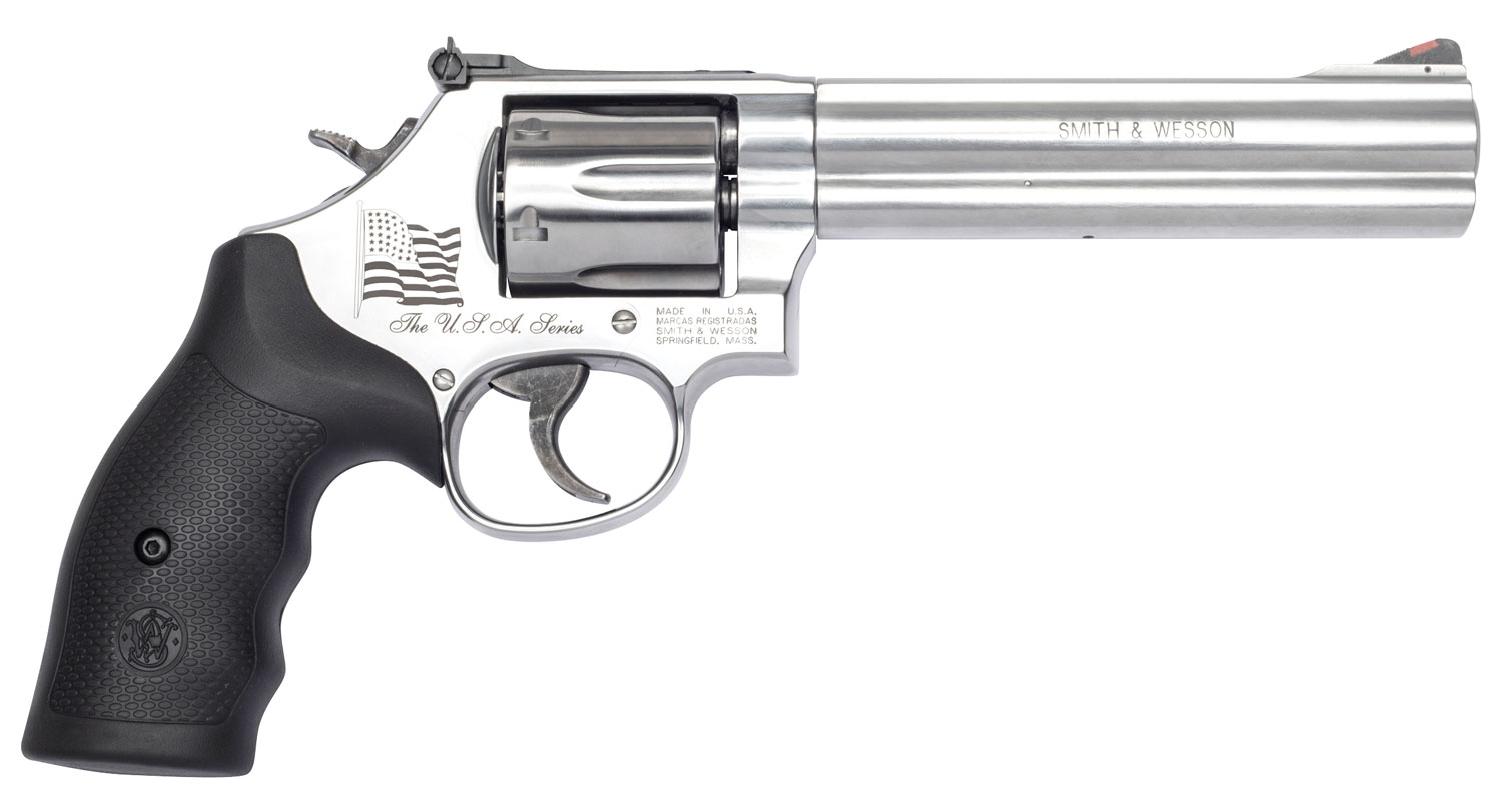 S&W M686      13184  357 6IN USA FLAG   SS