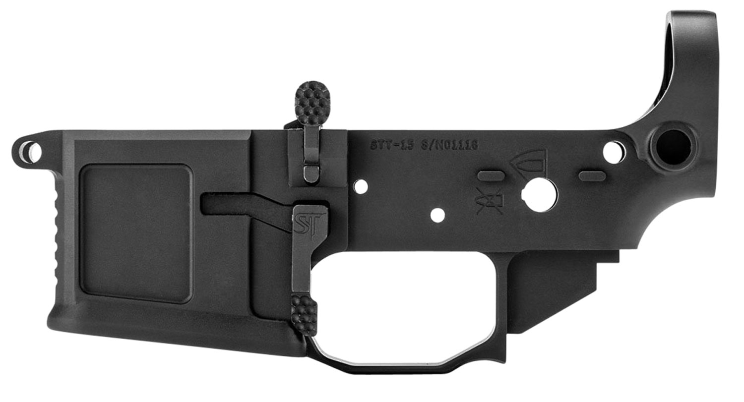 SAN TAN TACTICAL STT15 STT-15  AR Platform Multi-Caliber Black Anodized
