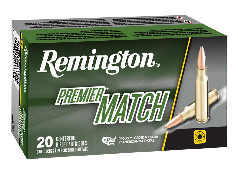 Remington Ammunition RM65PRC01 Premier Match 6.5 PRC 145 gr Open Tip Match Boat Tail 20 Bx/ 10 Cs