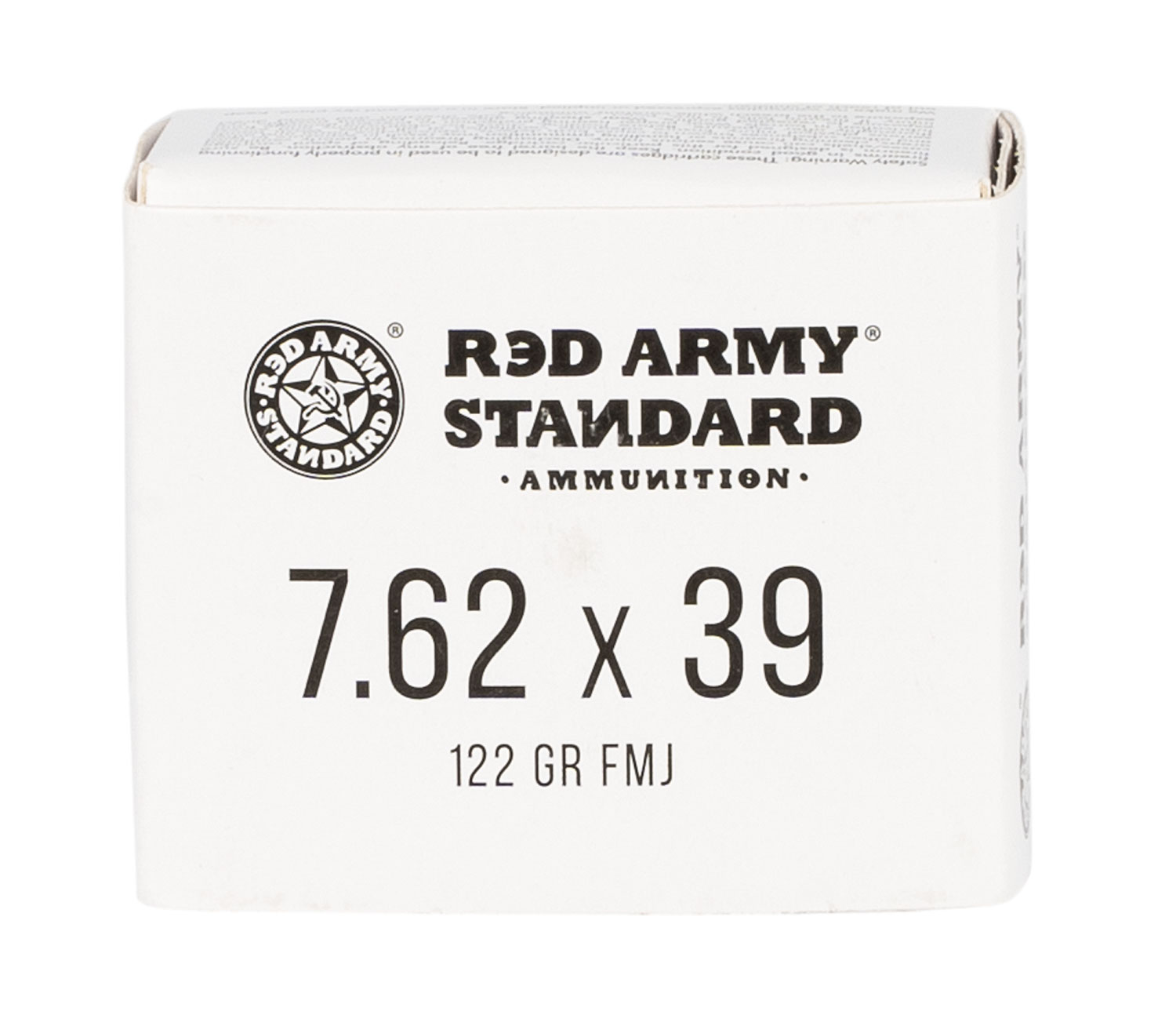 Red Army Standard Red Army Standard 7.62x39mm 122 gr Full Metal Jacket 20 Bx/ 50 Cs