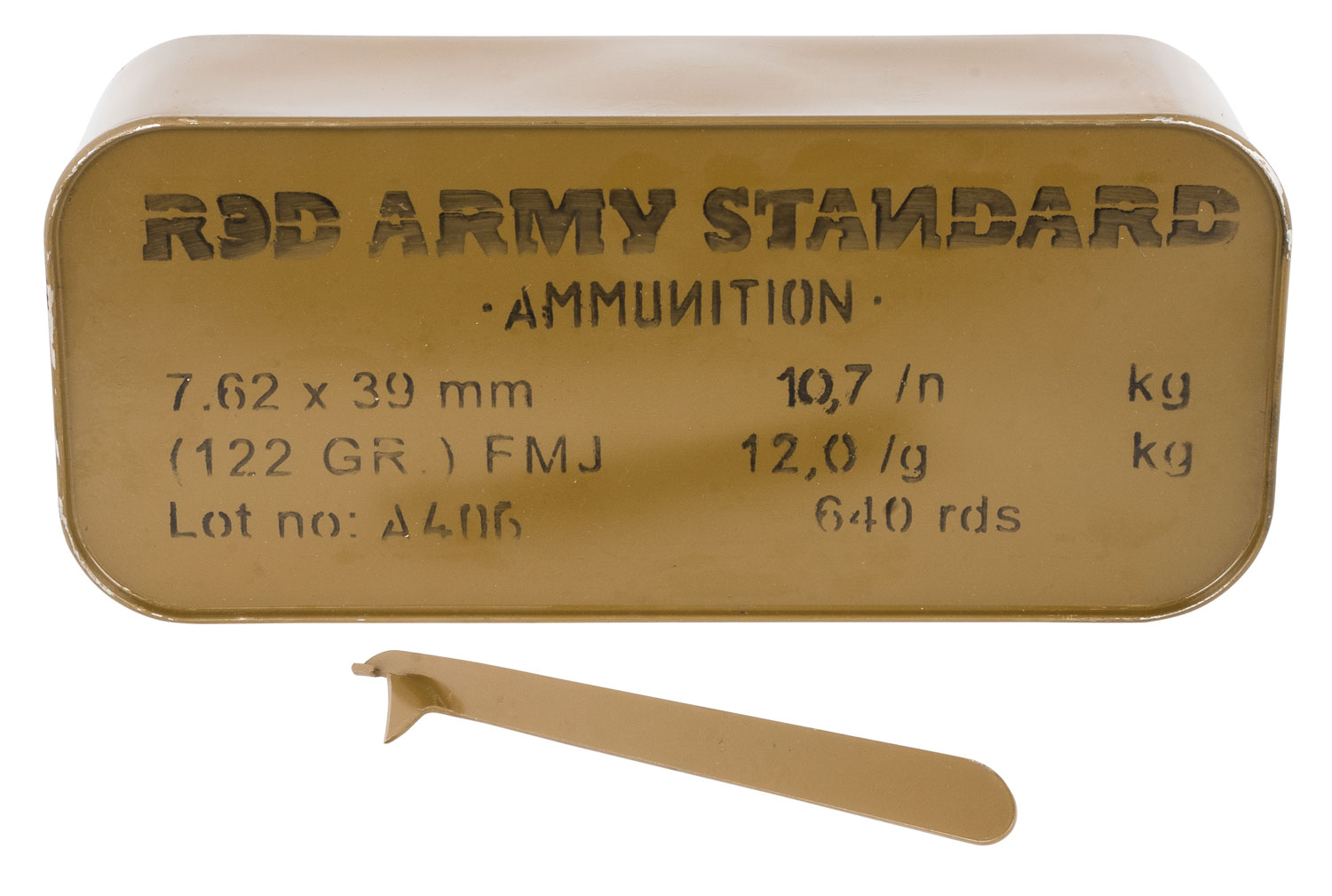 Red Army Standard Red Army Standard 7.62x39mm 122 gr Full Metal Jacket 20 Bx/ 32 Cs (Tin)