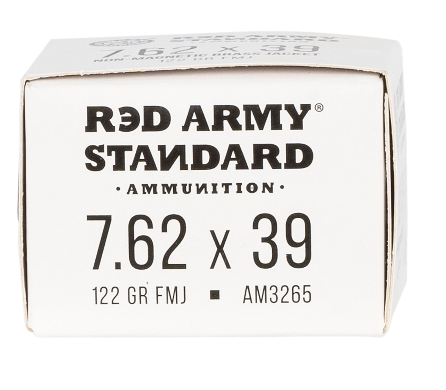 Red Army Standard Red Army Standard 7.62x39mm 122 gr Full Metal Jacket Boat Tail 20 Bx/ 50 Cs