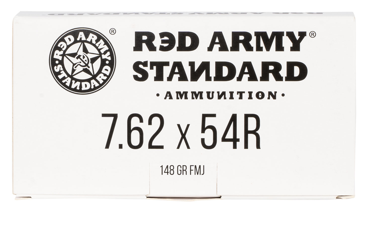 Red Army Standard Red Army Standard 7.62x54mmR 148 gr Full Metal Jacket 20 Bx/ 50 Cs