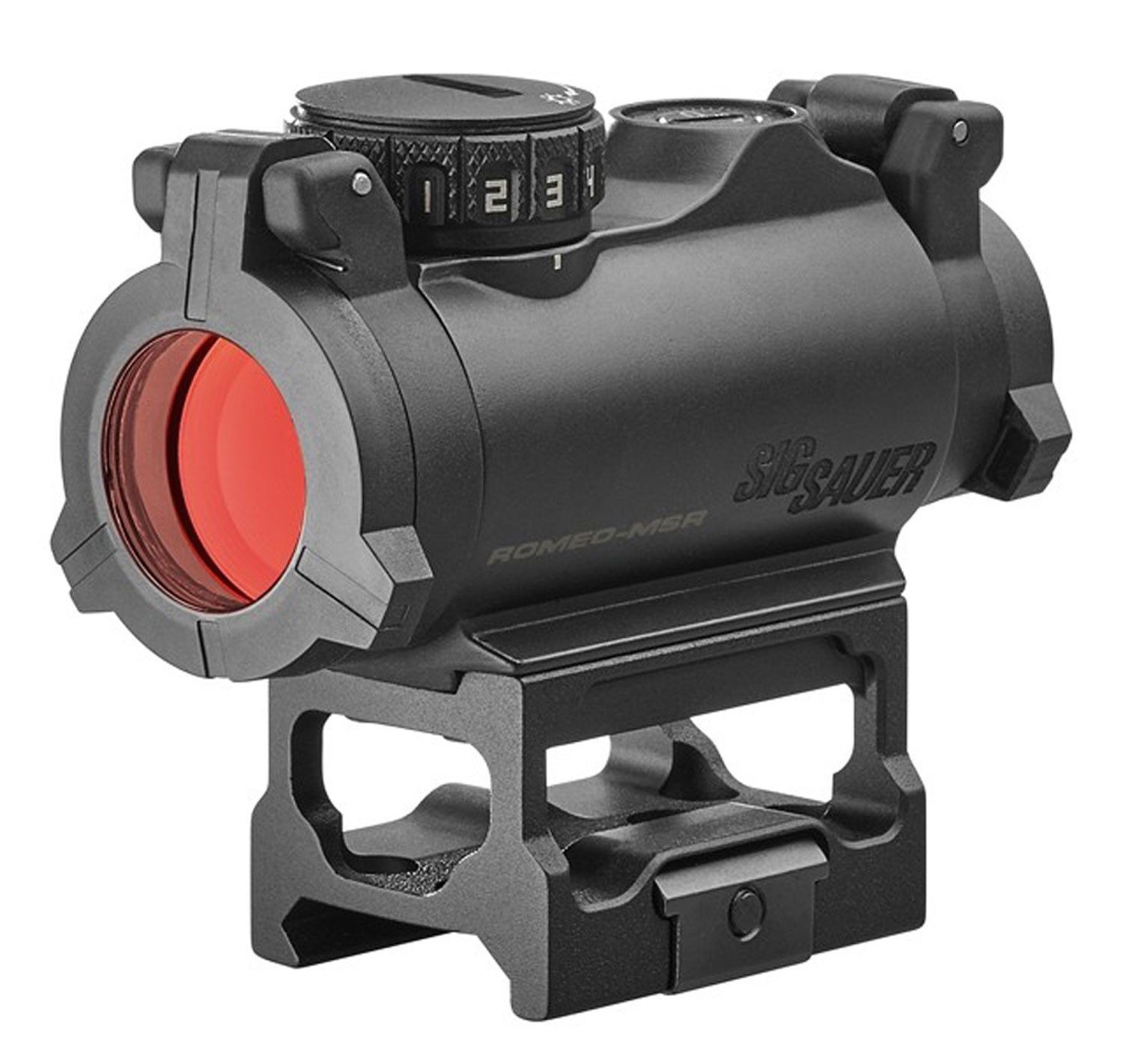 ROMEO MSR 1X20 MINI RFLX RED - COMPACT RED DOT | 2MOA | BLACK