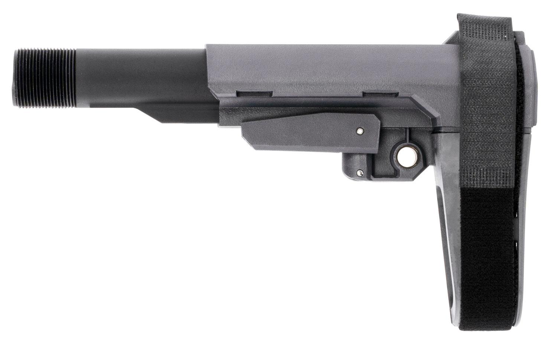 SB Tactical SBA3 Pistol Stabilizing Brace AR Platforms Gray Elasto-Polymer
