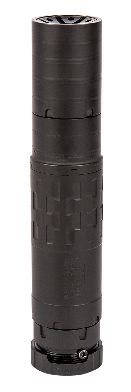 SilencerCo SU4735 Omega 36M  9mm 5.56x45mm NATO 338 Lapua Mag 1.57