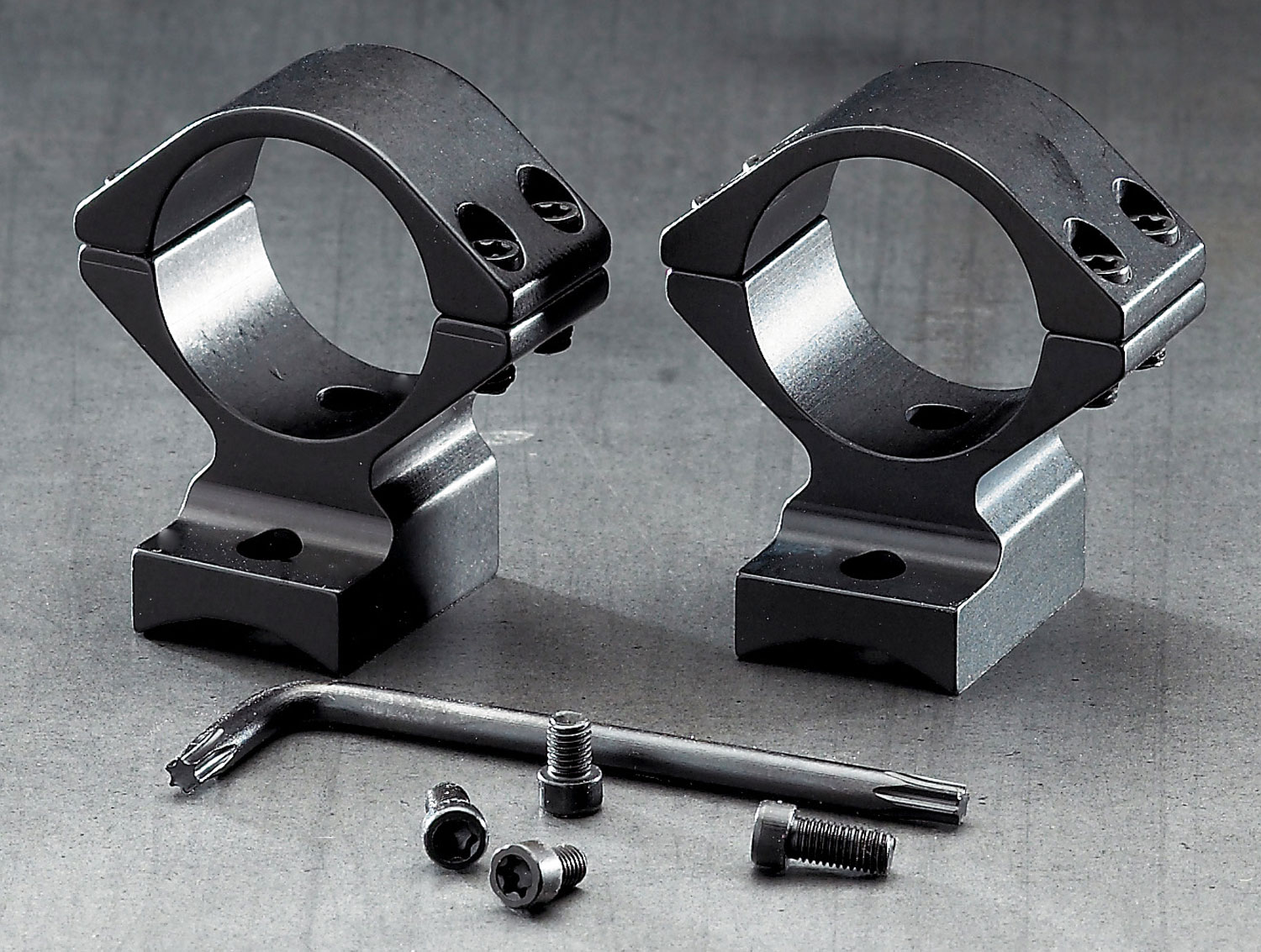 Browning 12395 BAR/BLR Integrated Scope Mount 2 Piece 1