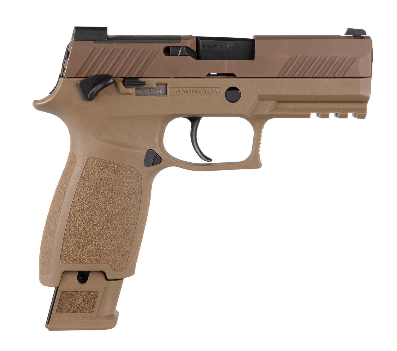 Sig Sauer 320CA9M18BS10 P320 M18 9mm Luger 3.90