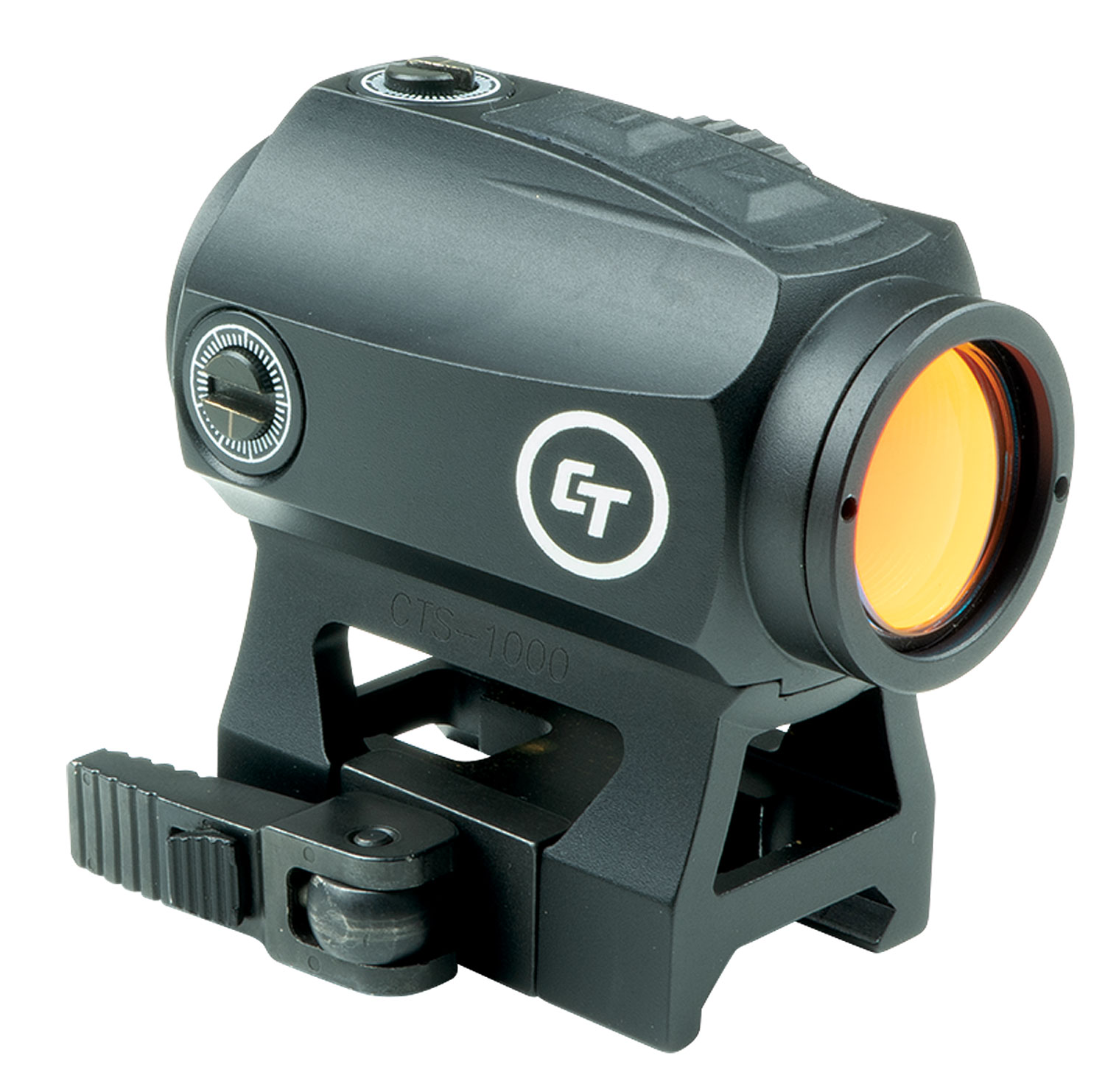 TACTICAL RED DOT 2MOA SIGHT - QUICK DETATCH RAIL MOUNT