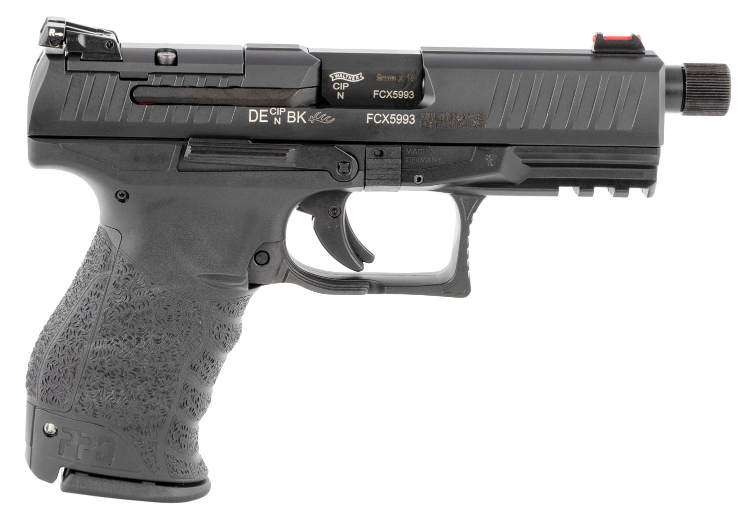 Walther Arms 2846969 PPQ Classic Q4 Tactical 9mm Luger 4.60