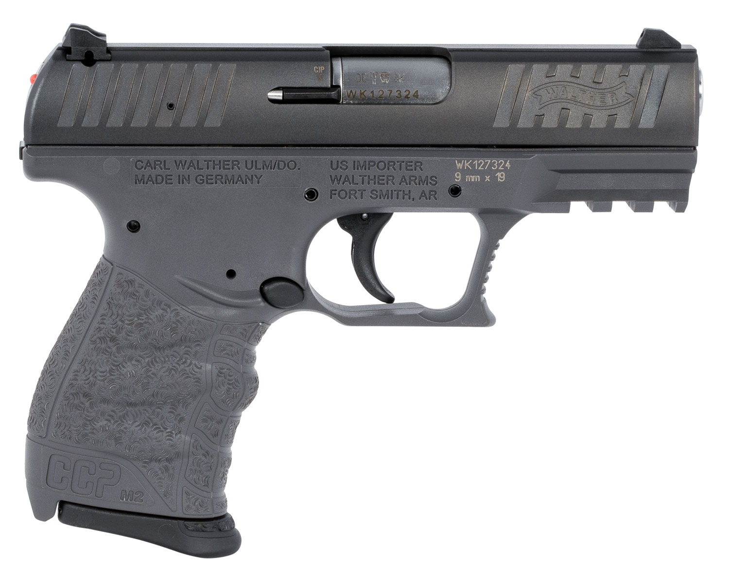 Walther Arms 5080505 CCP M2 9mm Luger 3.54