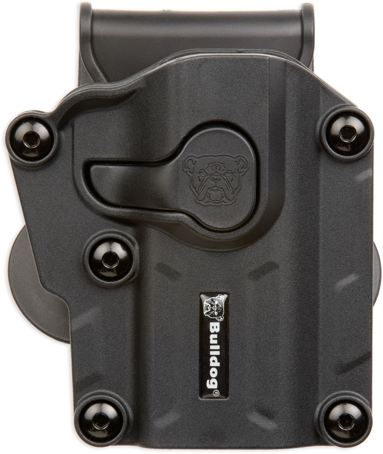 BULLDOG MAX MULTI-FIT POLYMER PADDLE HOLSTER BLACK