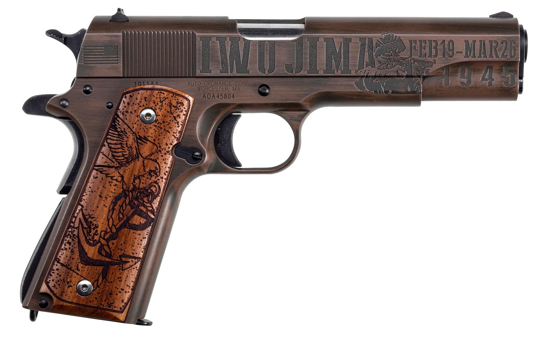 THMP 1911BKOWC6 IWO JIMA 1911 45ACP 5IN LTD