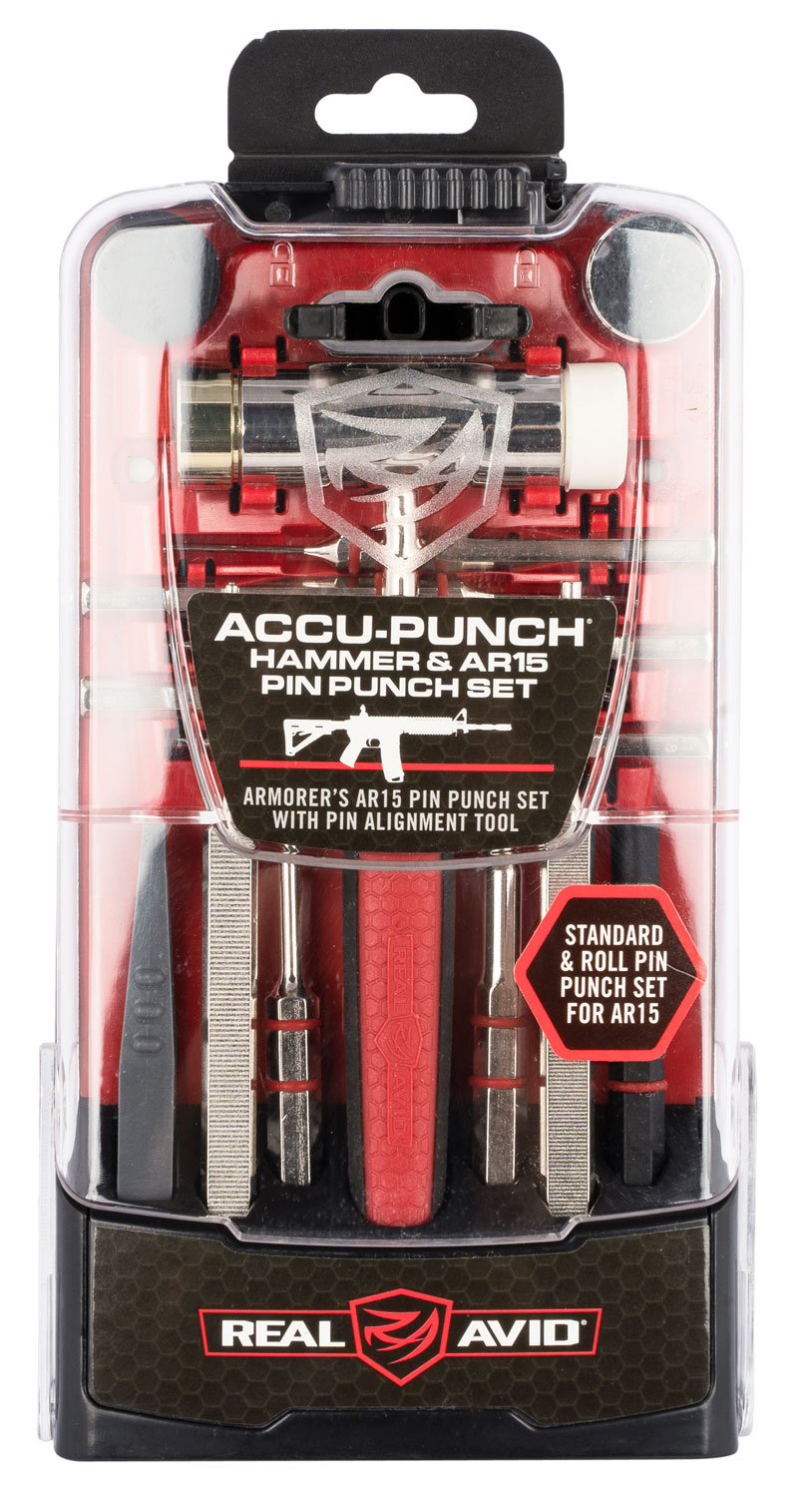 Real Avid/Revo AVHPSAR Accu-Punch  Hammer & AR-15 Punch Set Rubber