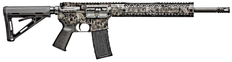 Black Rain BROCRYPTBLK Spec + Crypt 5.56x45mm NATO 16