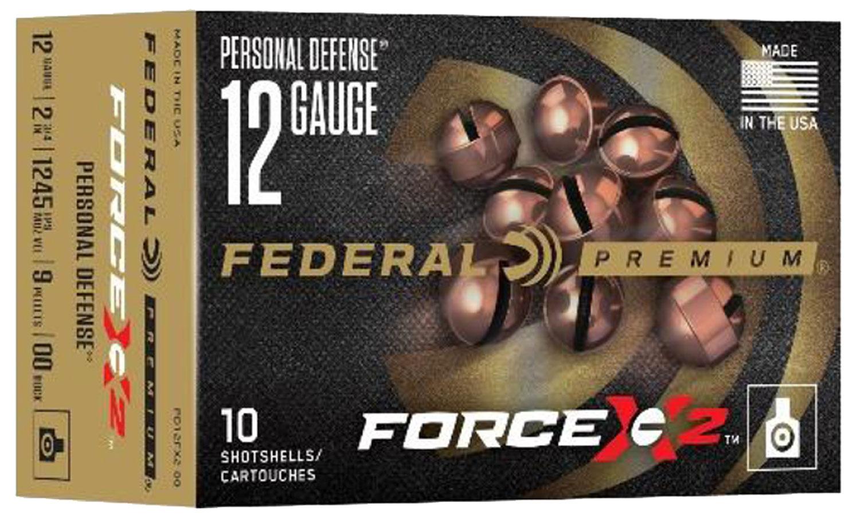 Federal PD12FX200 Force X2 12 Gauge 2.75