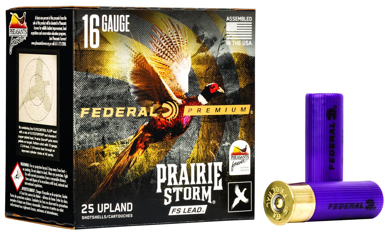 Federal PFX164FS6 Prairie Storm  16 Gauge 2.75