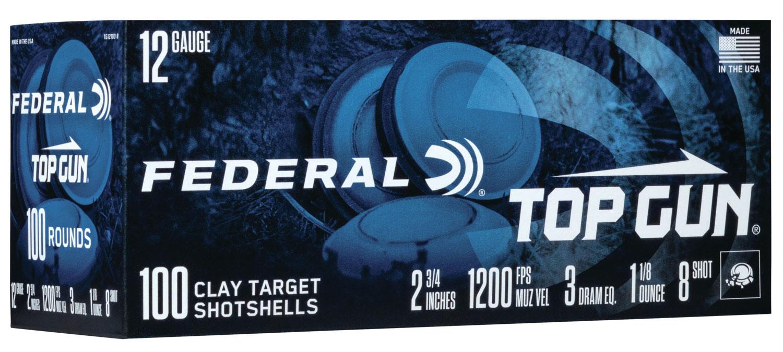 Federal TG121008 Top Gun  12 Gauge 2.75