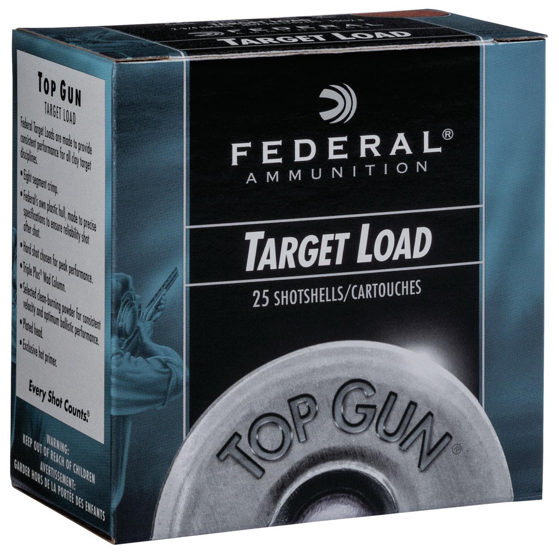 Federal TGSH1275 Top Gun Sporting 12 Gauge 2.75