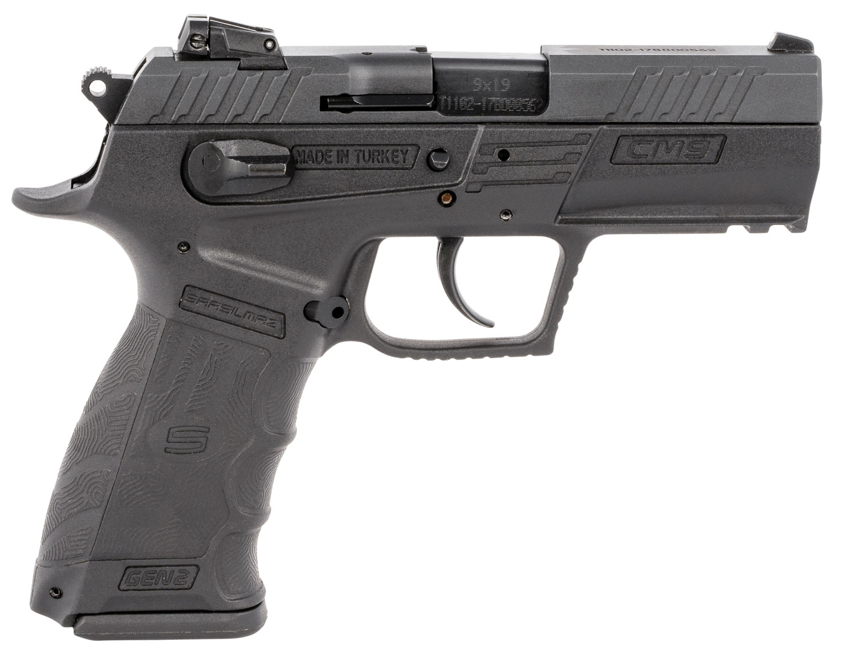 Sar USA CM9BL CM9  9mm Luger 3.80