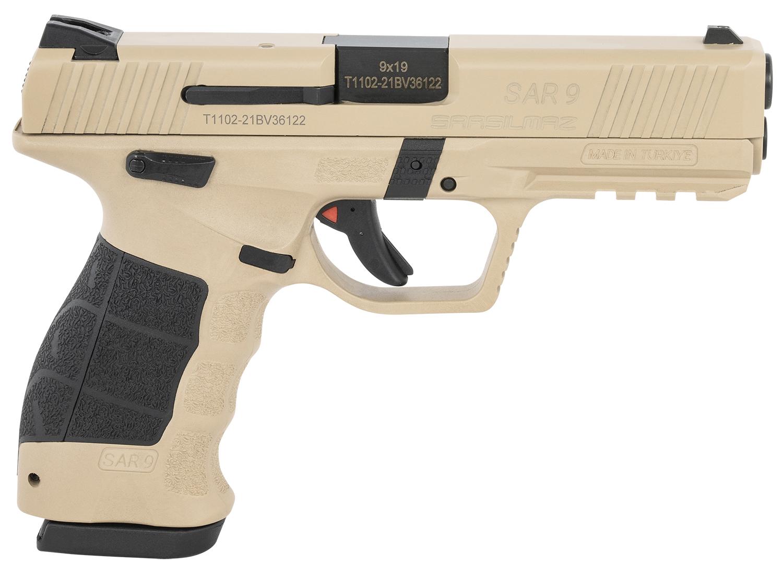 Sar USA SAR9SA SAR9 Safari 9mm Luger 3.80