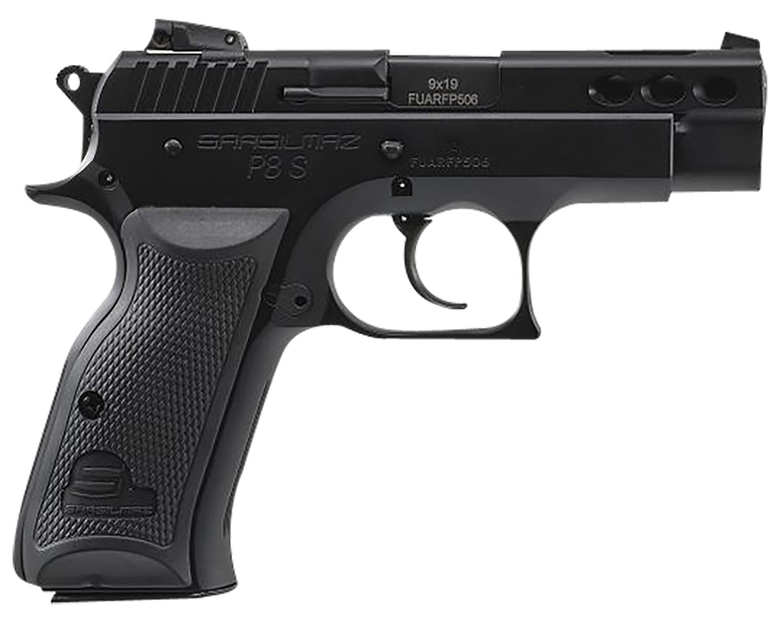 Sar USA P8SBL P8S Compact 9mm Luger 3.80
