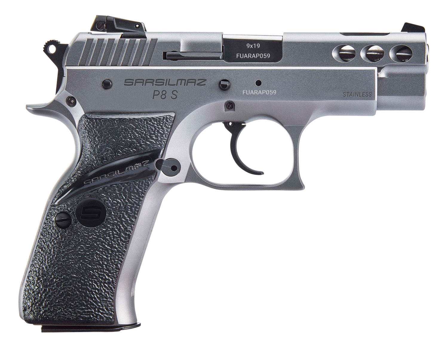 Sar USA P8SST P8S Compact 9mm Luger 3.80