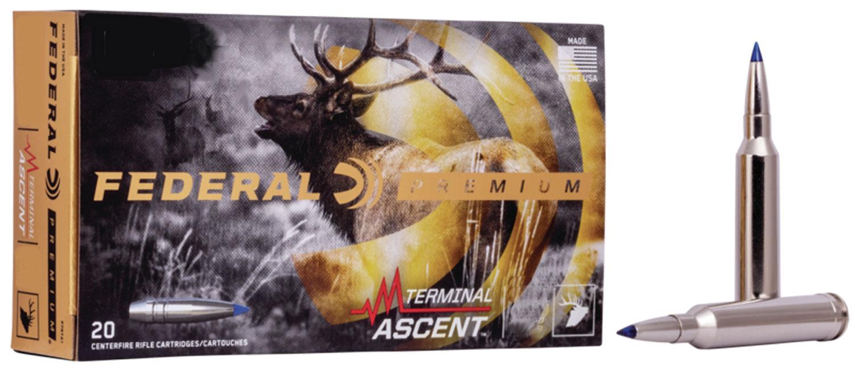 Federal P270TA1 Premium  270 Win 136 gr Terminal Ascent 20 Bx/ 10 Cs
