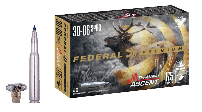 Federal P3006TA1 Premium  30-06 Springfield 175 gr Terminal Ascent 20 Bx/ 10 Cs