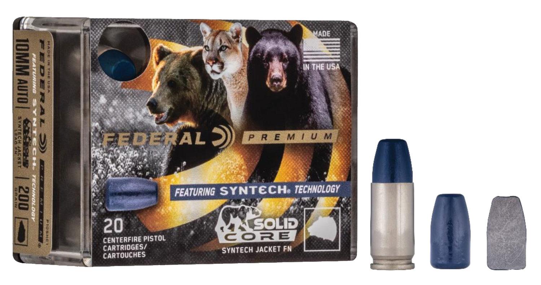 Federal P9SHC1 Premium  9mm Luger 147 gr Solid Core Synthetic 20 Bx/ 10 Cs