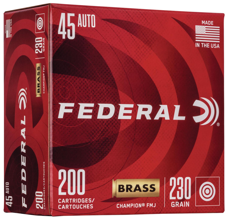 FED WM52332 45 BRASS 230 FMJ 200/5