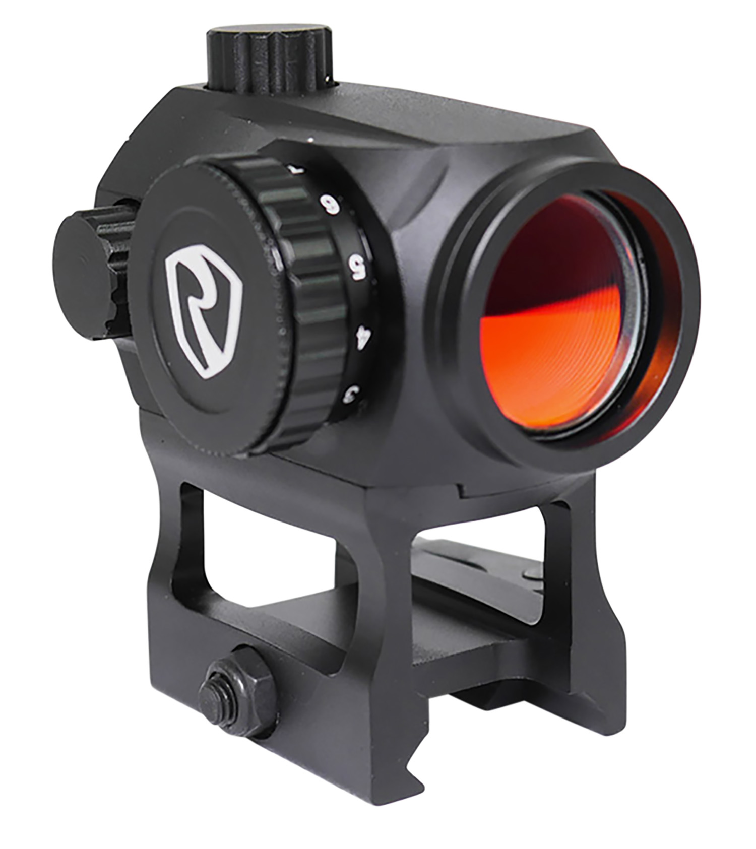 Riton Optics  X1 Tactix 1x 23mm 2 MOA Illuminated Red Dot Black