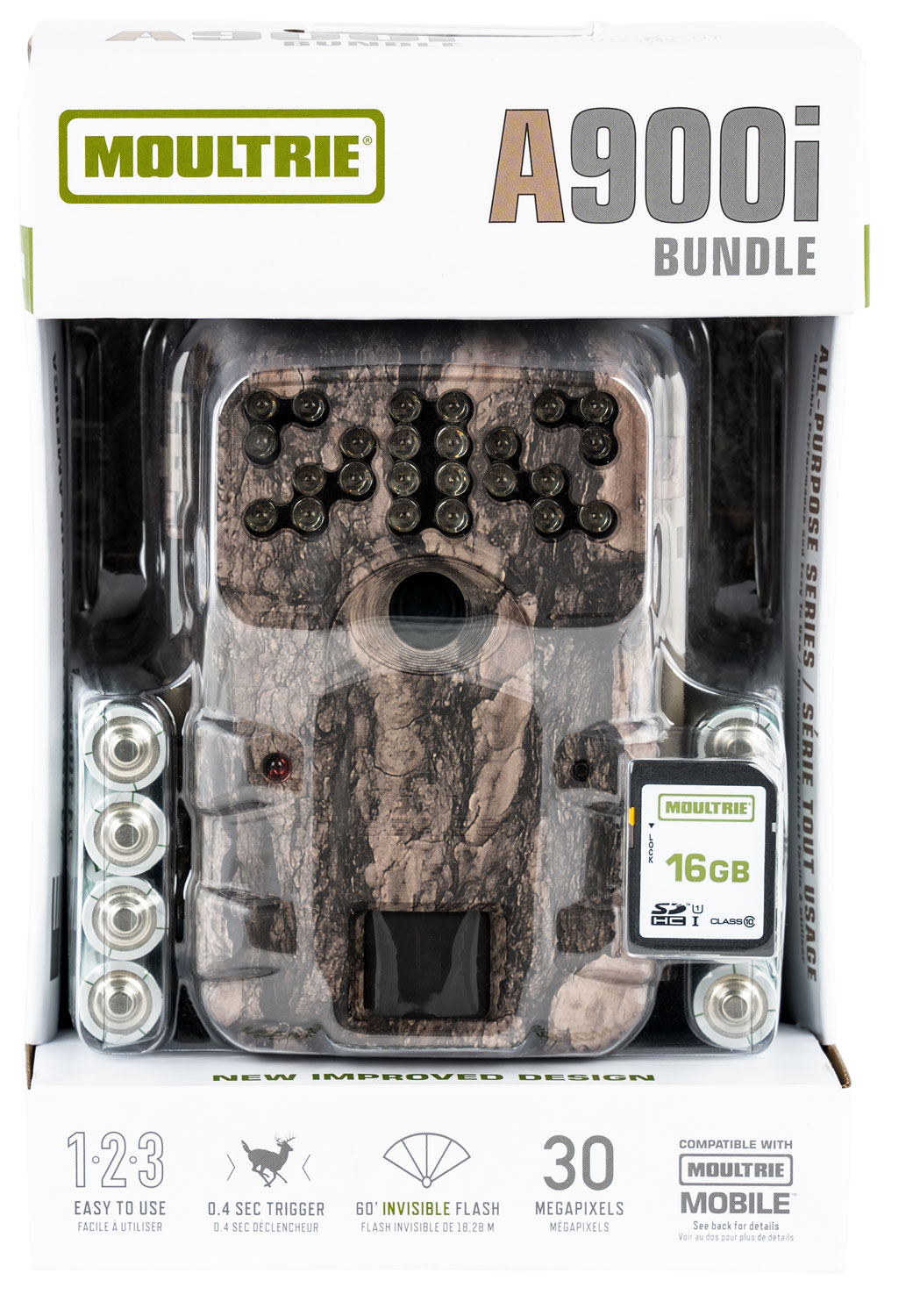 Moultrie A-900i Game Camera  <br>  Bundle