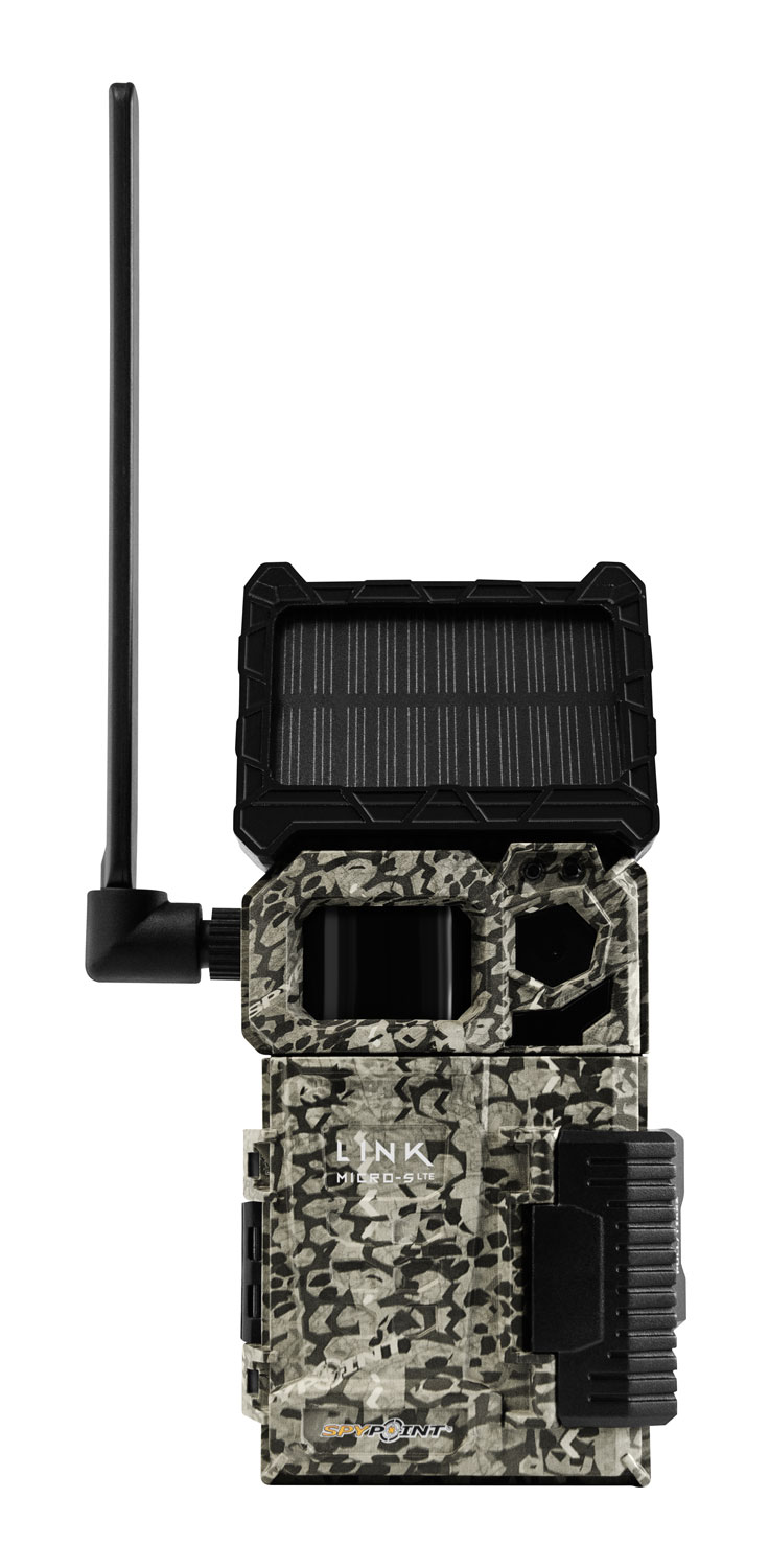 Spypoint Link Micro S LTE Solar Cellular Trail Camera