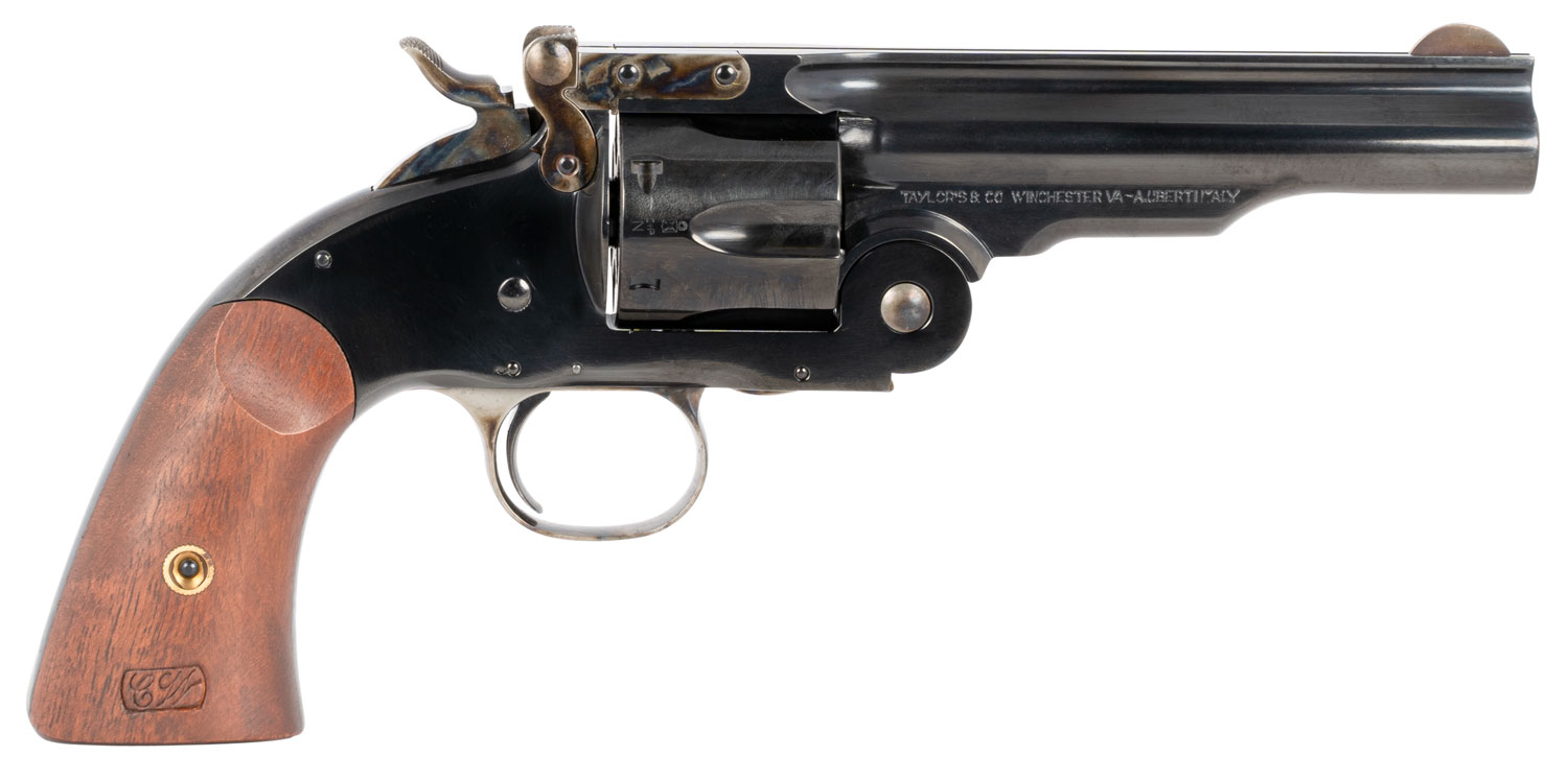 Taylors & Company 0858 Second Model Schofield 38 Special 6rd 5