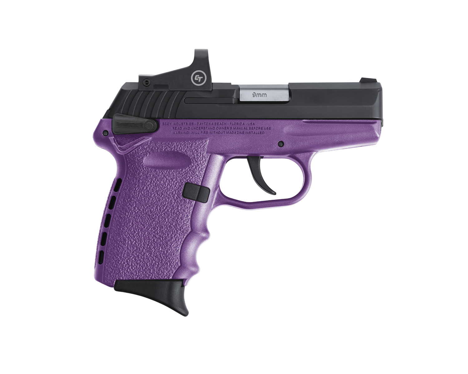 SCCY Industries CPX-1CBPURD CPX-1 RD 9mm Luger 3.10