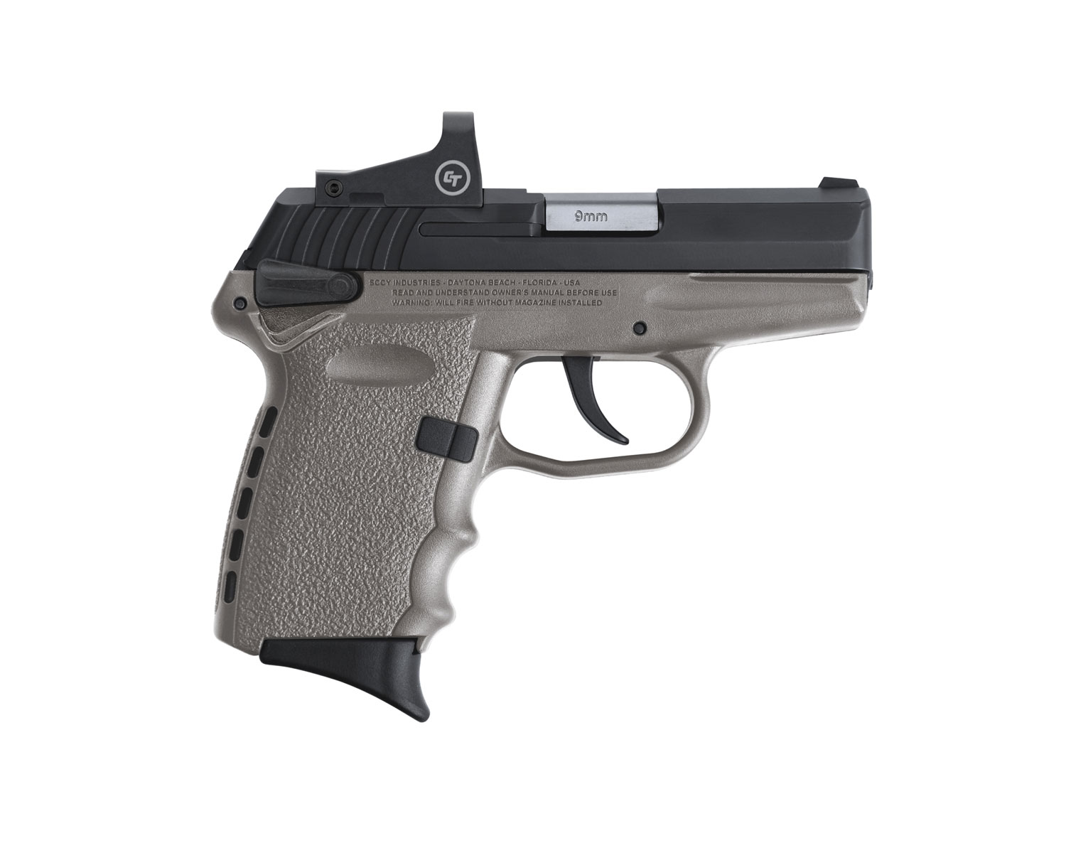 SCCY Industries CPX-1CBSGRD CPX-1 RD 9mm Luger 3.10