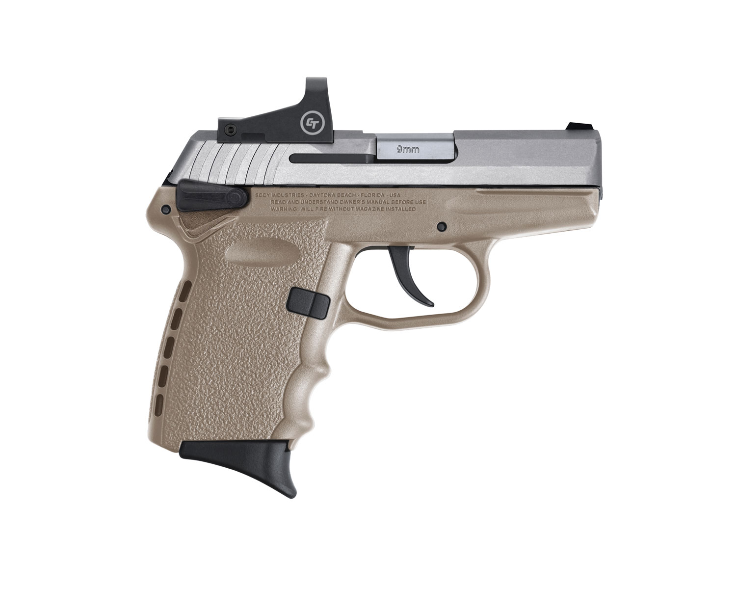SCCY Industries CPX-1TTDERD CPX-1 RD DAO 9mm Luger 3.10