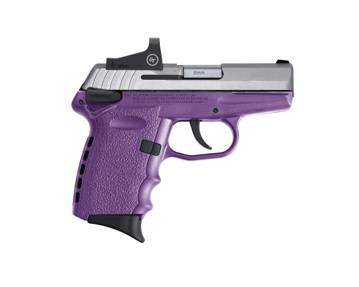 SCCY Industries CPX-1TTPURD CPX-1 RD 9mm Luger 3.10
