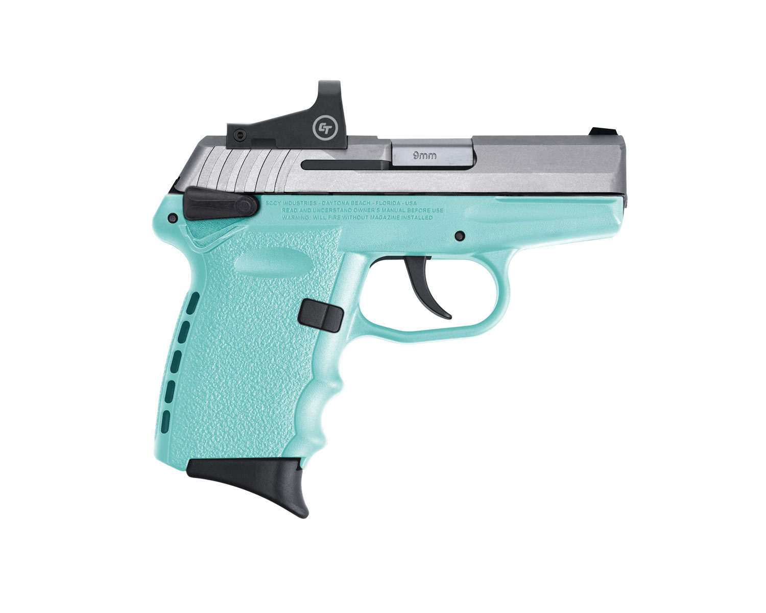 SCCY Industries CPX-1TTSBRD CPX-1 RD 9mm Luger 3.10