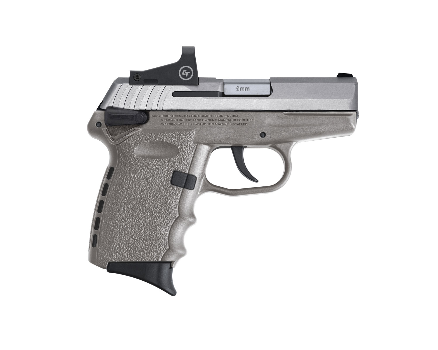SCCY Industries CPX-1TTSGRD CPX-1 RD 9mm Luger 3.10