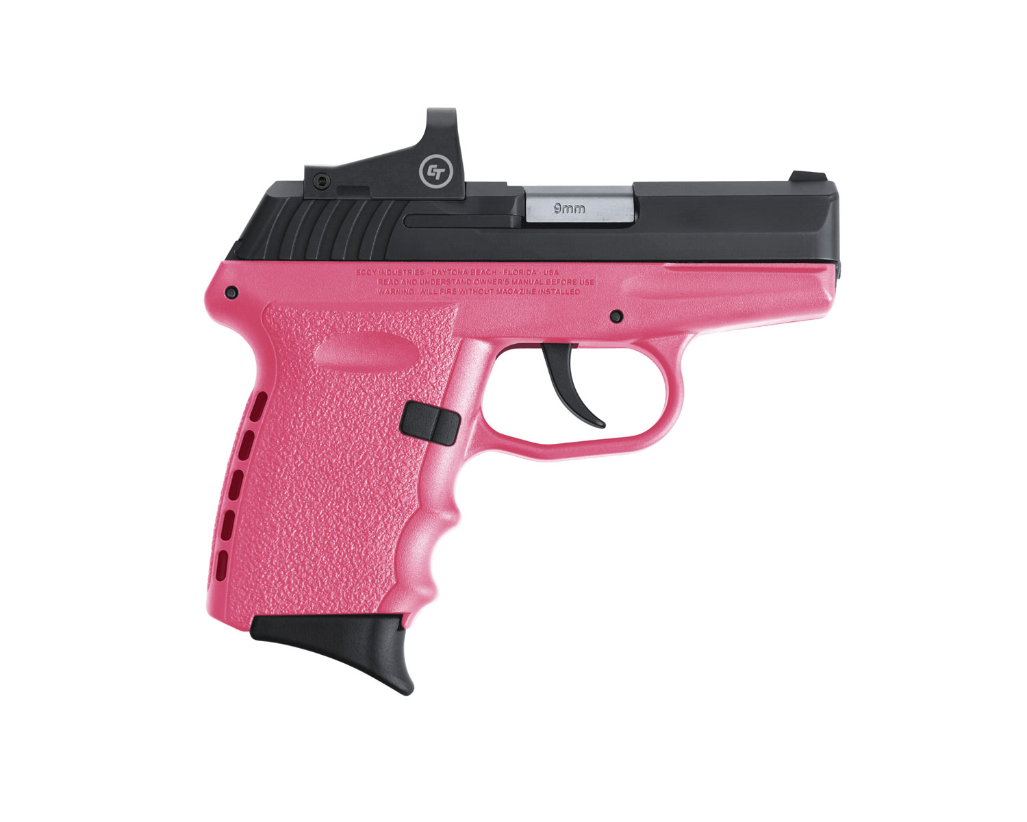SCCY Industries CPX-2CBPKRDE CPX-2 RD 9mm Luger 3.10