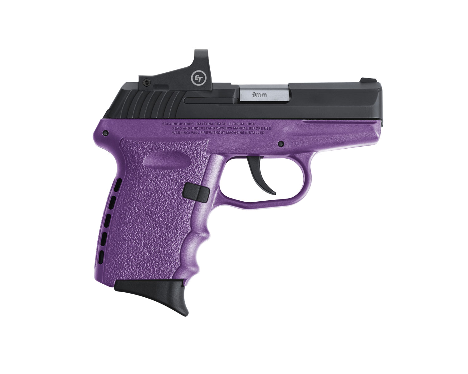 SCCY Industries CPX-2CBPURDE CPX-2 RD 9mm Luger 3.10